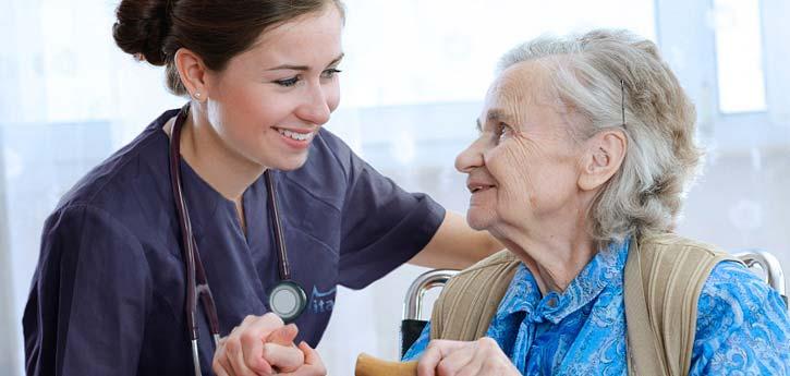 infirmière à domicile, personnel d'agence pour les particuliers